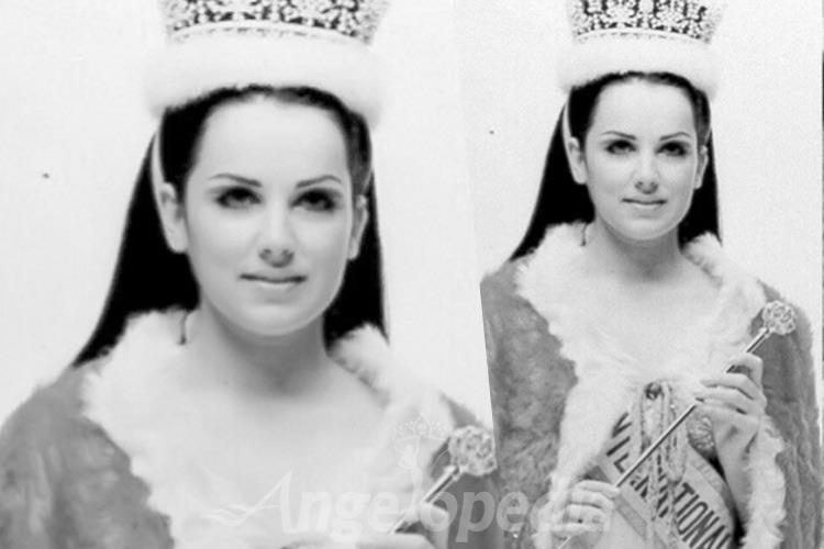 Valerie Holmes Miss International 1969 from Great Britain