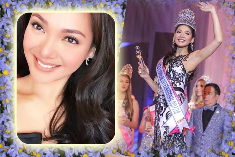 Jannie Loudette Miss Tourism International 2017