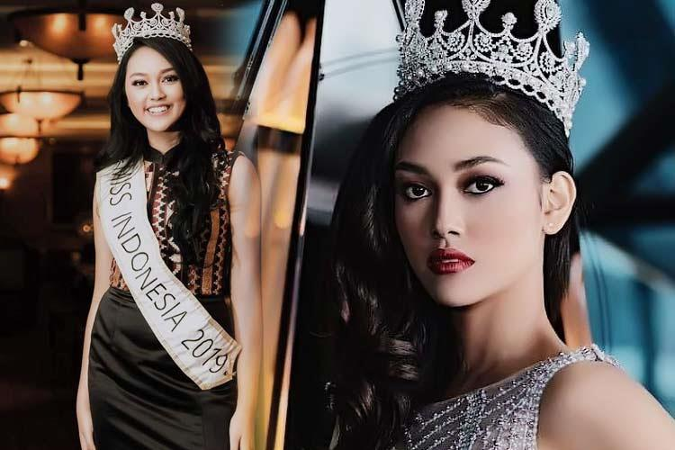 Princess Megonondo Miss Indonesia 2019 for Miss World 2019