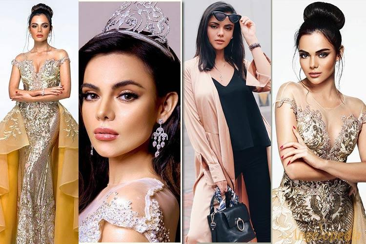 Karen Gallman Miss Intercontinental 2018 Beauty with a Sophisticated Style