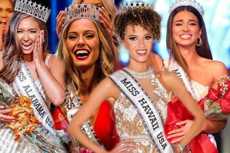 Beauties competing in Miss USA 2020