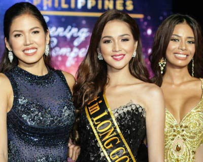 Miss Global Philippines 2017 Evening Gown Competition Winners