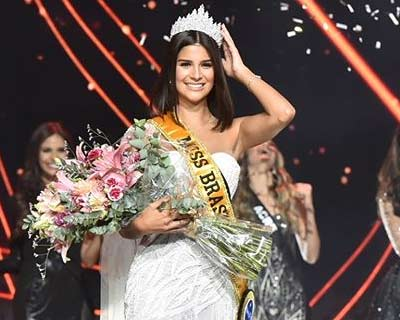 Júlia Horta of Minas Gerais crowned Miss Brasil Be Emotion 2019