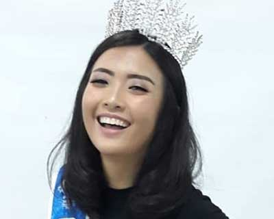 Meet Miss Scuba Indonesia 2019 Anavaliza Atmadja for Miss Scuba International 2019