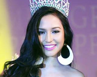 Miss Grand Philippines 2014 winner is Kimberly Karlsson