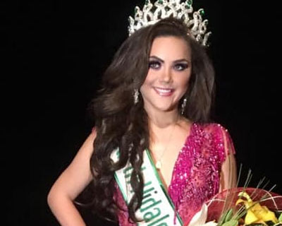 Keyra Garcia crowned Miss Earth Hidalgo 2019 for Miss Earth Mexico 2019