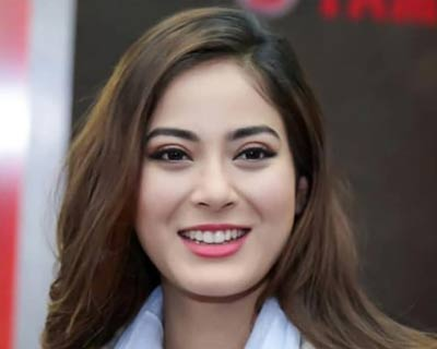 Miss World Nepal 2018 Shrinkhala Khatiwada as a speaker in the key session 'Youth for Nepal' in Kantipur Conclave