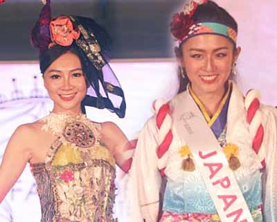Face of the Beauty International 2019 delegates dazzle at the National Costume and Swimsuit Competition