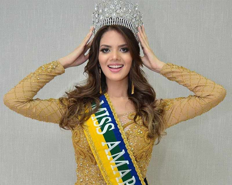 Williene Lima crowned Miss Amapá Be Emotion 2018 for Miss Brasil Be Emotion 2018