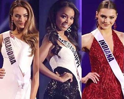 Miss USA 2020 Top 5 Q/A round