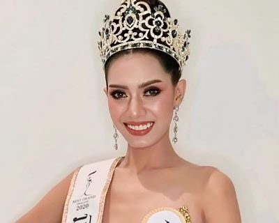 Chonthicha Sangkha crowned Miss Grand Samutprakarn 2020 for Miss Grand Thailand 2020