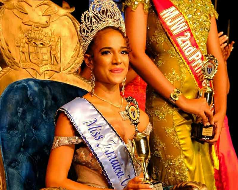 Solange Sinclair crowned Miss Jamaica World 2017
