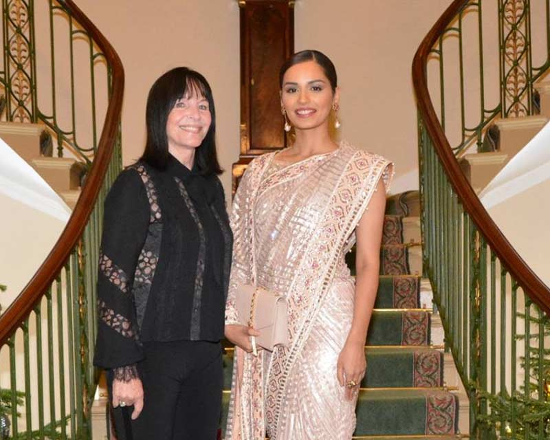 Manushi Chhillar welcomed by Her Majesty The Queen in London