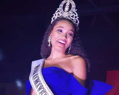 Destinee Arnold crowned Miss Universe Belize 2019