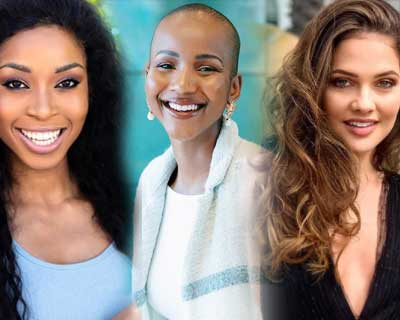 Miss South Africa 2020 Top 5 Q/A round