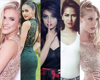 Miss Intercontinental 2016 Top 5 Hot Picks