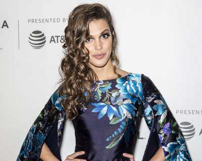 Iris Mittenaere at Tribeca Film Festival in New York for the premiere of The Handmaids Tale