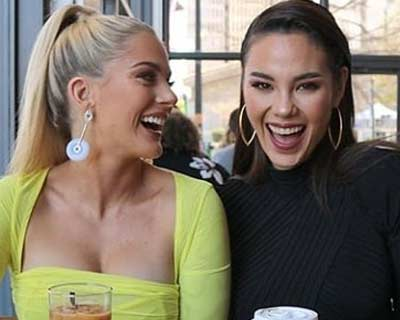 A glimpse of the reigning Miss Universe Catriona Gray and Miss USA Sarah Rose Summer's New York Life