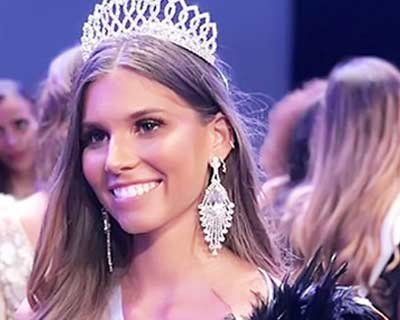 Lara Lourenço crowned Miss Ile de France 2020 for Miss France 2021