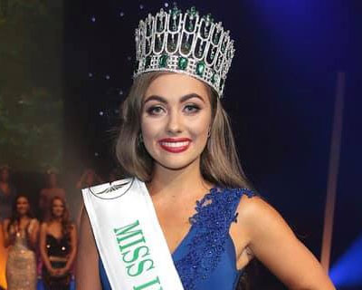 Chelsea Farrell crowned Miss World Ireland 2019