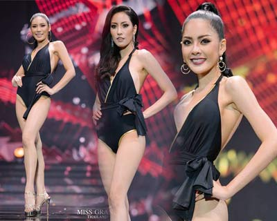 Miss Grand Thailand 2017 finalists compete in the Preliminary Competition