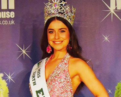 Miss Earth England 2018 Abbey-Anne Gyles
