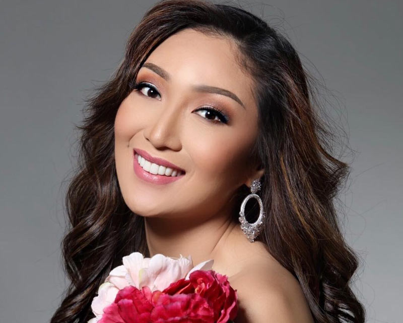 The class of Miss Earth Philippines is being unveiled