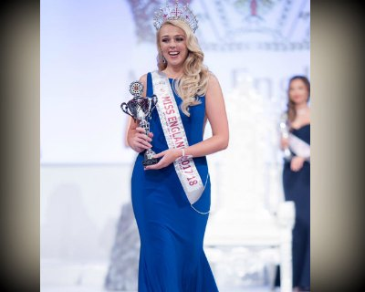 Stephanie Hill crowned as Miss England 2017