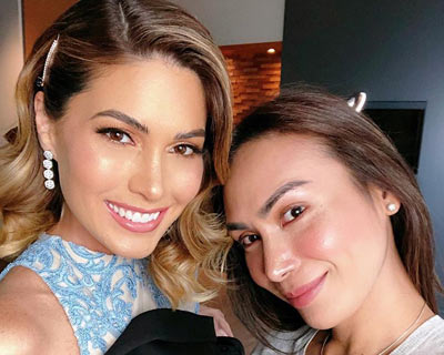 Venezuela's Miss Universe Gabriela Isler is back in Philippines
