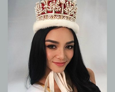 Kylie Verzosa visits Institute of Mental Health Singapore