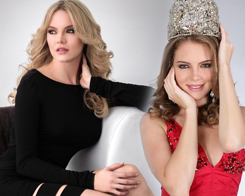 Miss Earth 2005 Alexandra Braun of Venezuela wins the Best Actress Award for her movie UMA