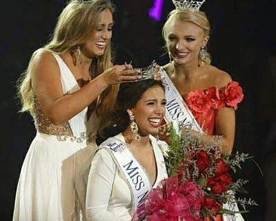 Victoria Huggins crowned as Miss North Carolina 2017 for Miss America 2018
