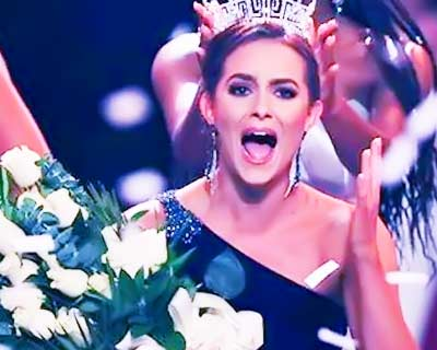 Camille Schrier of Virginia crowned Miss America 2020