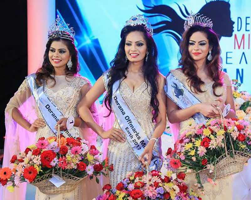Shyama Dahanayaka crowned Miss Sri Lanka Earth 2017