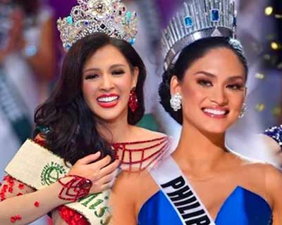 First crowned Asian queens at Big 4 major beauty pageants in the decade (2011 – 2020)