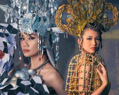 Supermodel International 2020 National Costume Top 8 Favourite Contestants