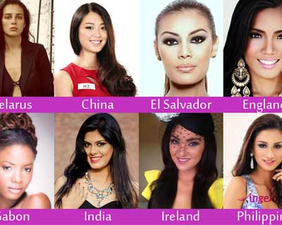 Miss Supranational 2014 Top 15 Favourites by Angelopedia