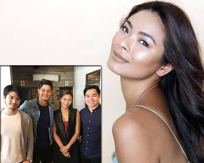 Maxine Medina kicks off her career in show business with a movie