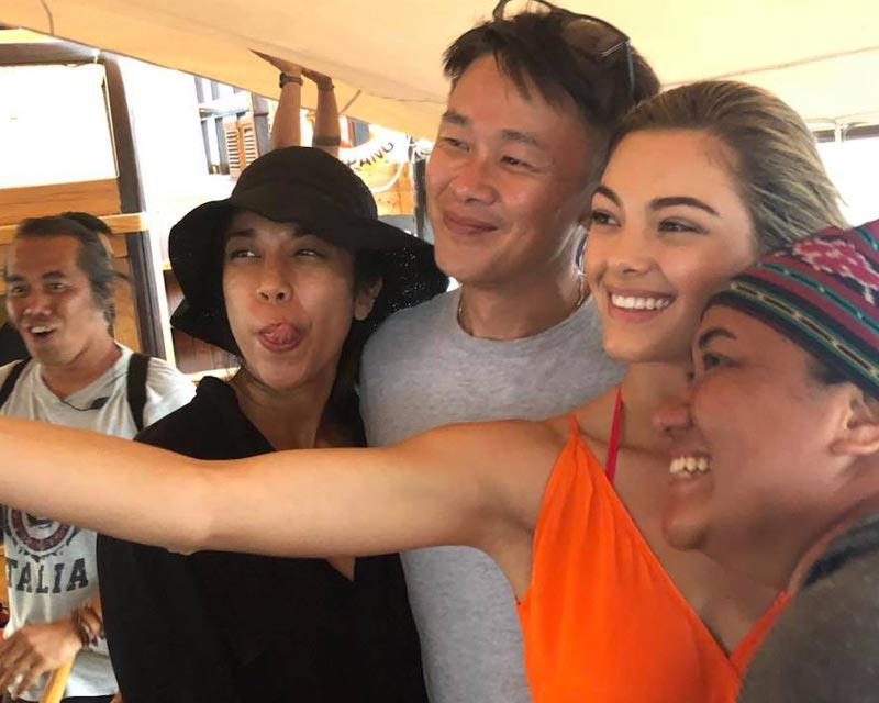Miss Universe Demi-Leigh Nel-Peters sets foot in Indonesia
