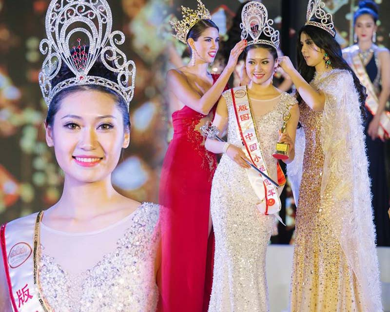 Wanxin Xing of Beijing crowned Miss Grand China 2018