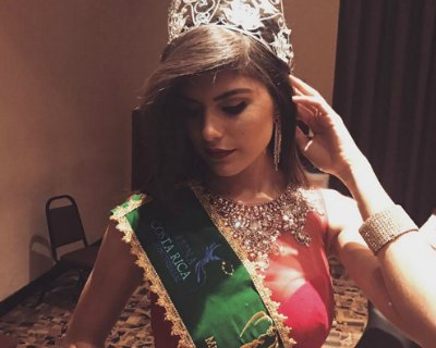 Fernanda Rodriguez crowned as Miss Earth Costa Rica 2017