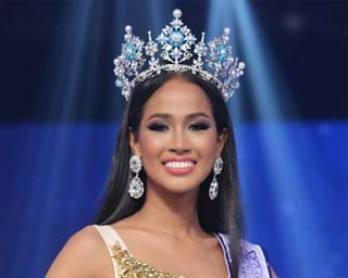 Maeya Nonthawan Thongleng crowned Miss Thailand World 2014