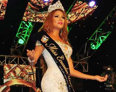Connie Maily Jimenez Romero crowned as Miss Ecuador 2016