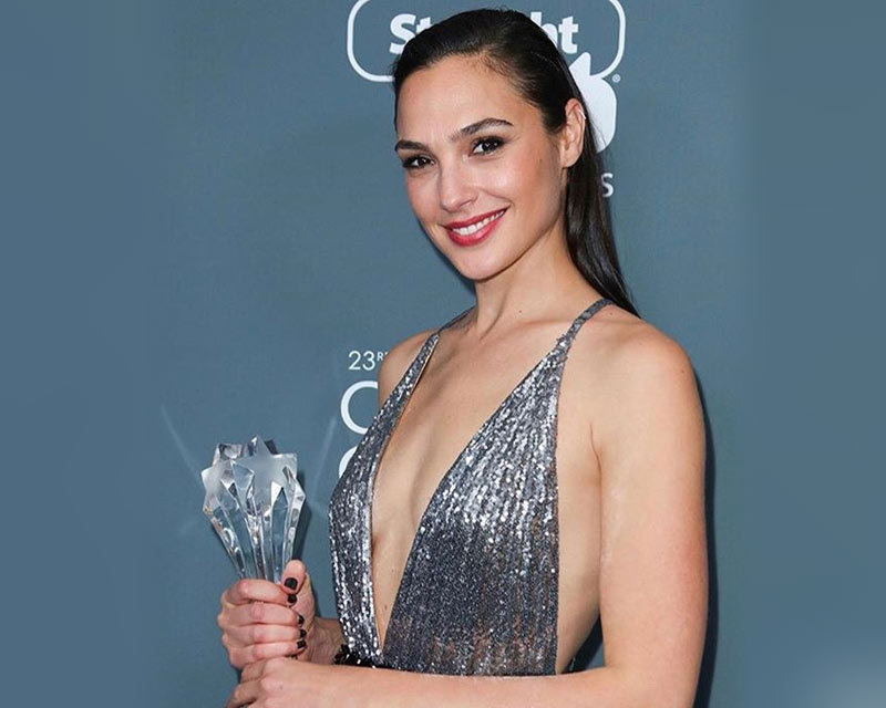 Gal Gadot's moving speech while receiving 2018 Critics' Choice 'See Her' Award