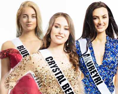 Miss Universe Iceland 2019 Top 5 Hot Picks