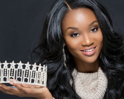 Deshauna Barber of USA is vying to win the Miss Universe 2016 beauty pageant