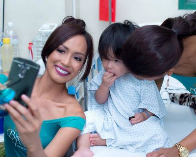 Bb Pilipinas 2017 finalists visit Rizal Hospital in Pasig City