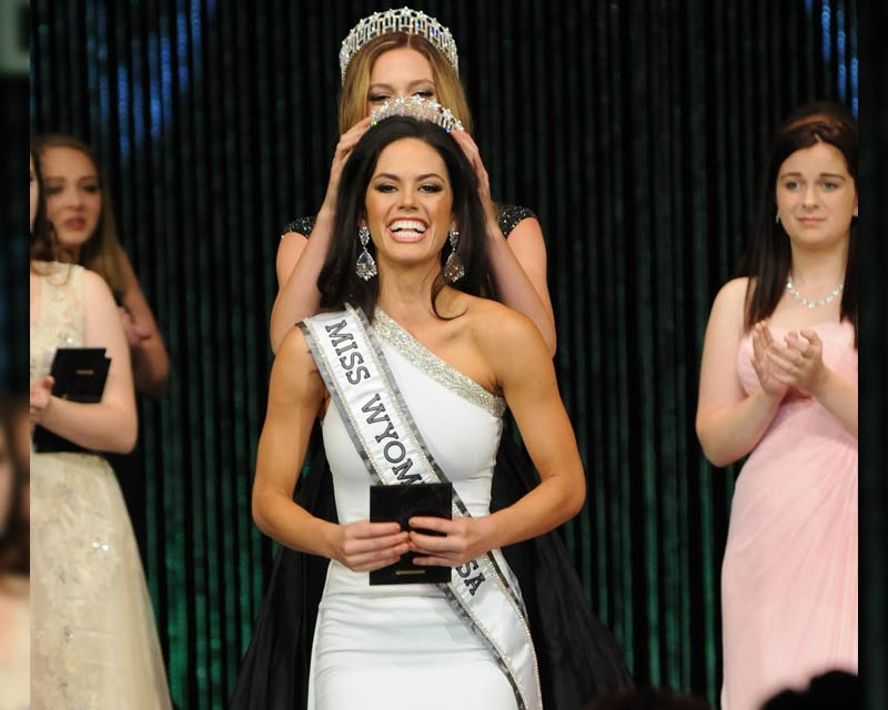 Callie Bishop crowned Miss Wyoming USA 2018 for Miss USA 2018