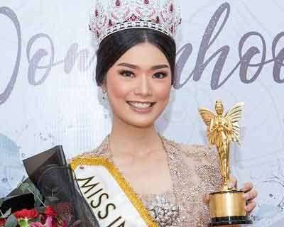 Miss World Indonesia 2020 Pricilia Carla Yules receives Indonesia's Beautiful Women Award 2021