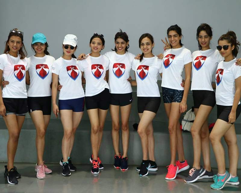 Femina Miss India Beauty with Brains Sports Competition
